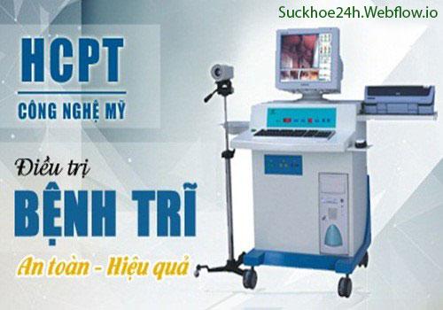 Chữa bệnh trĩ ngoại dứt điểm bằng phương pháp HCPT