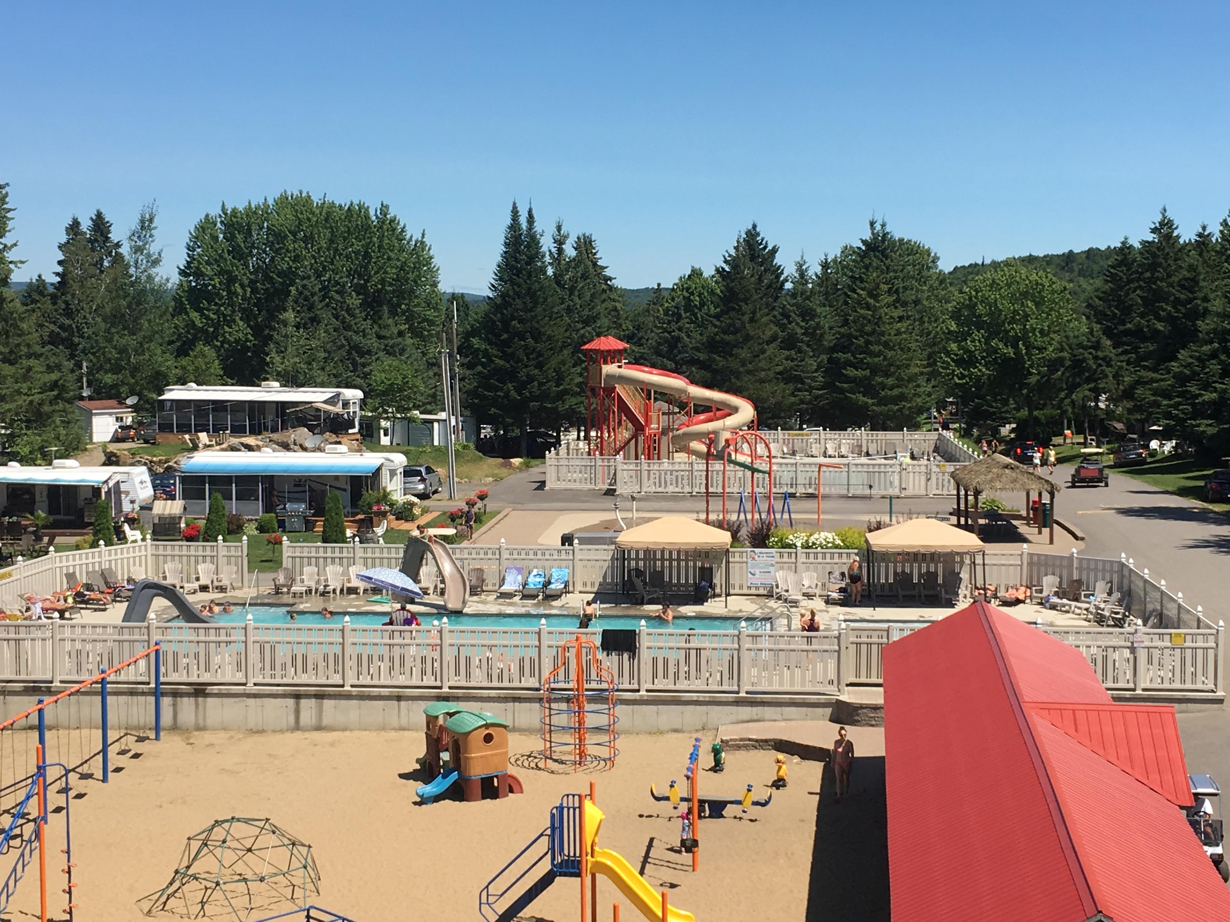 Parc et piscines