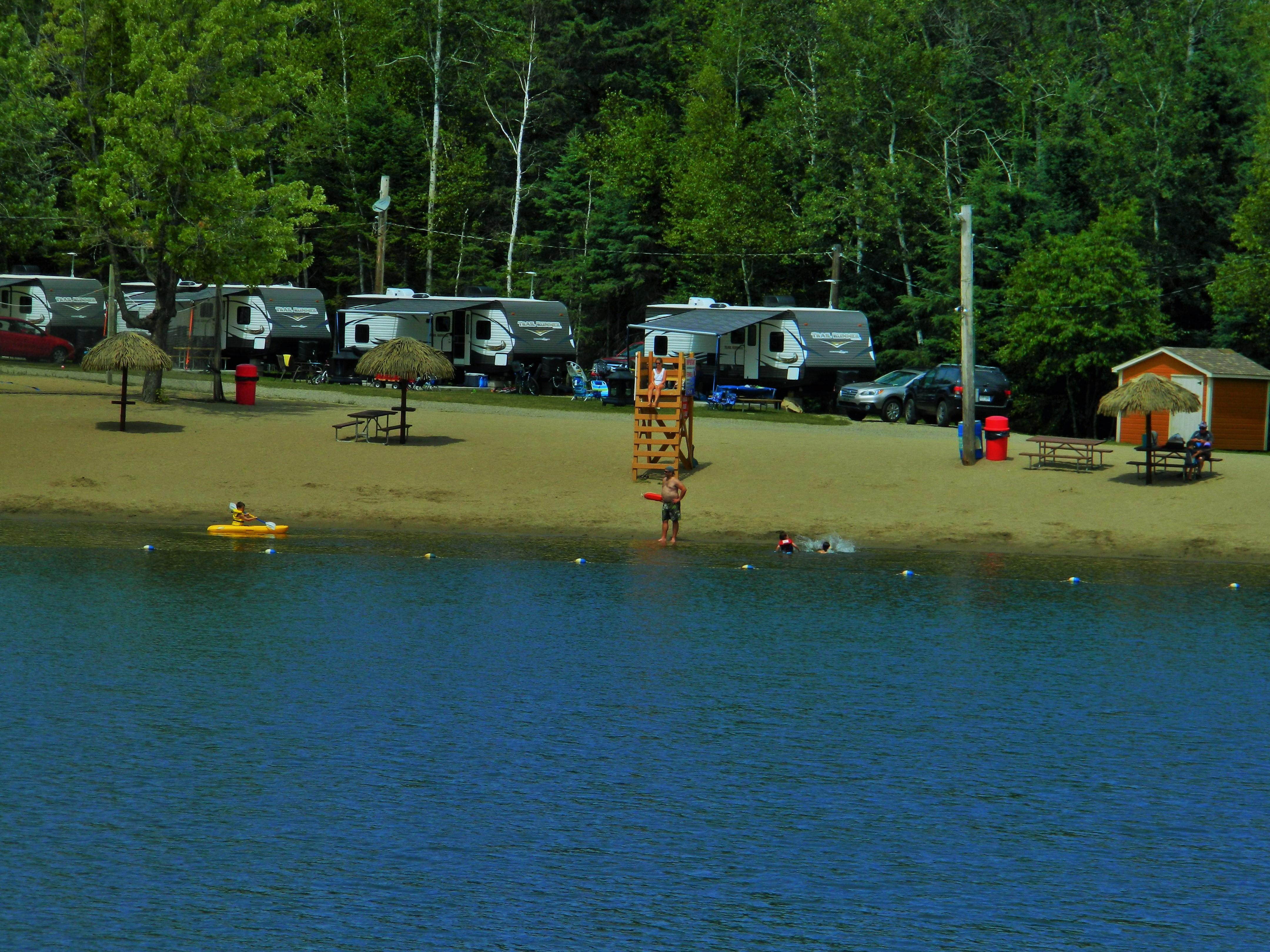 Roulottes de location à la plage