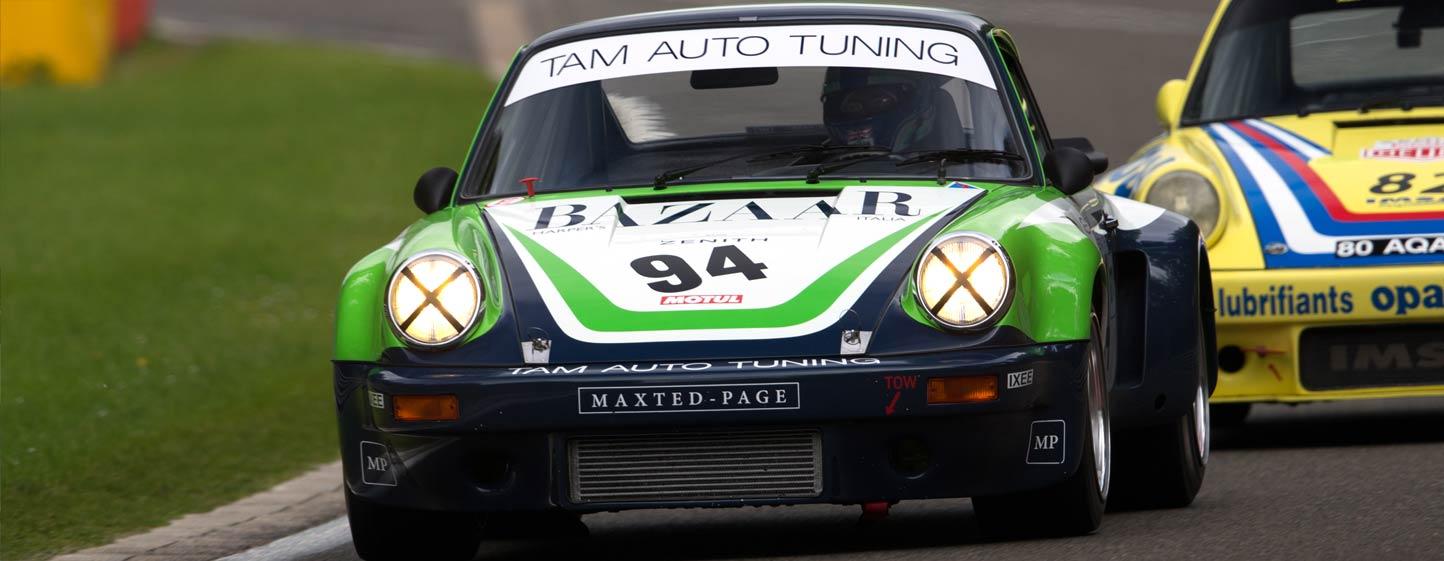 Spa Classic 2016 - Fastest Lap (2:44.570) with the ex-Giorgio Schön 1974 Porsche 3.0 RSR