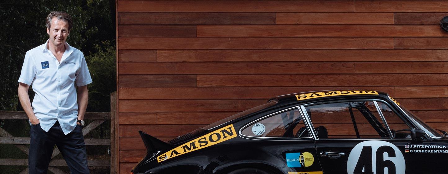 Porsche Klassik visit Maxted-Page