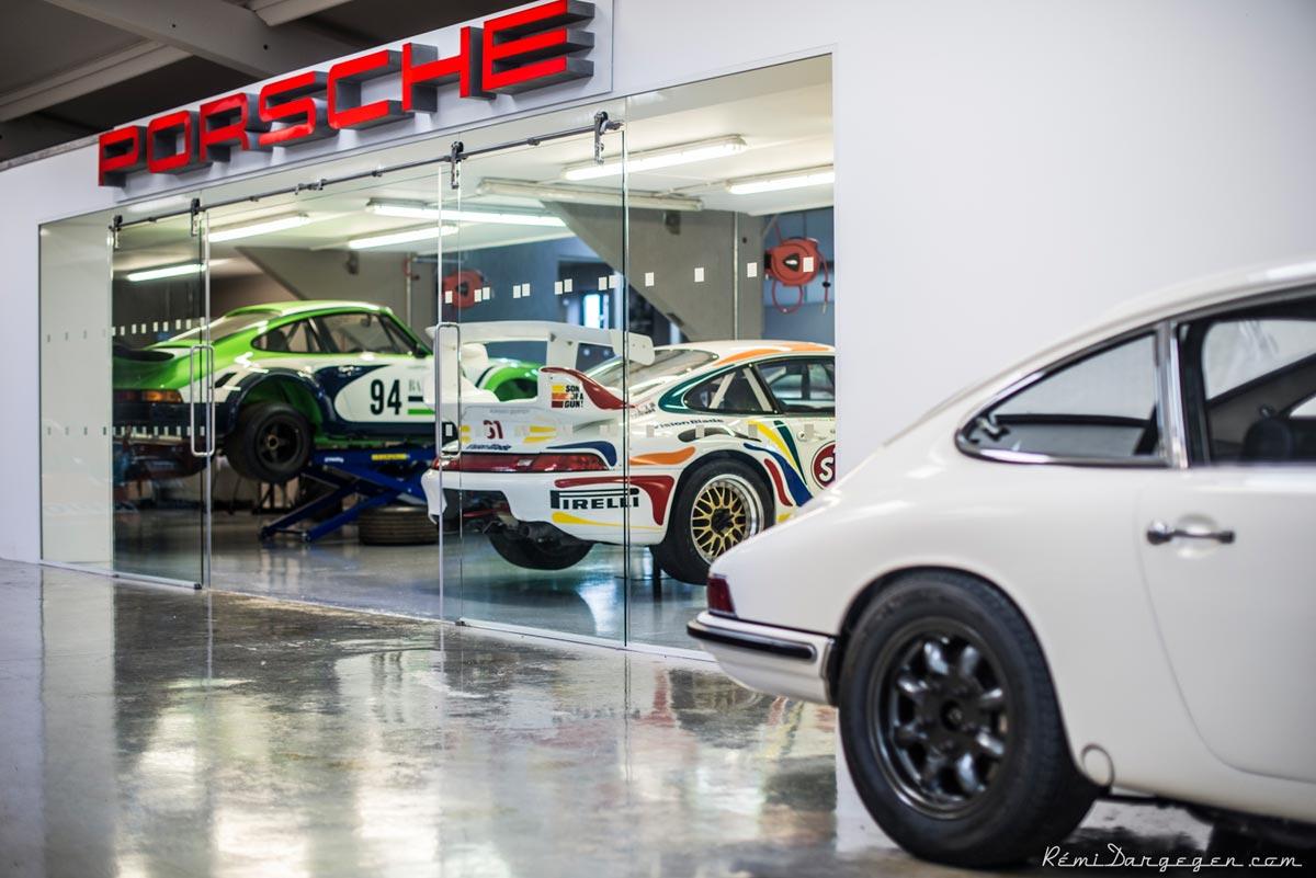 Maxted-Page's treasure trove - Historic Porsche Specialists