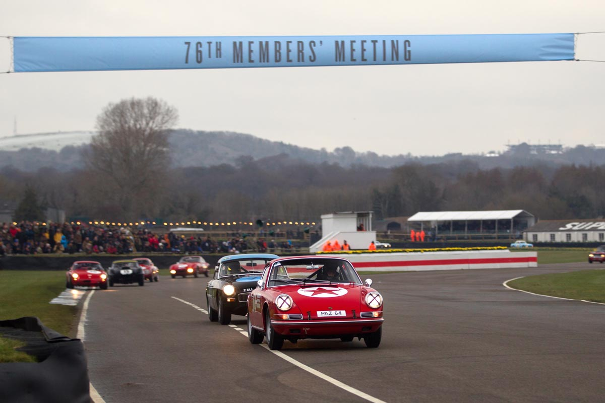 76th Goodwood Members Meeting — Maxted-Page historic Porsche racing