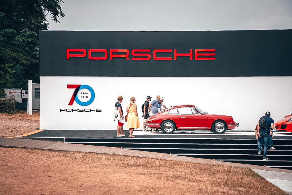 Goodwood Festival of Speed — Maxted-Page historic Porsche specialists