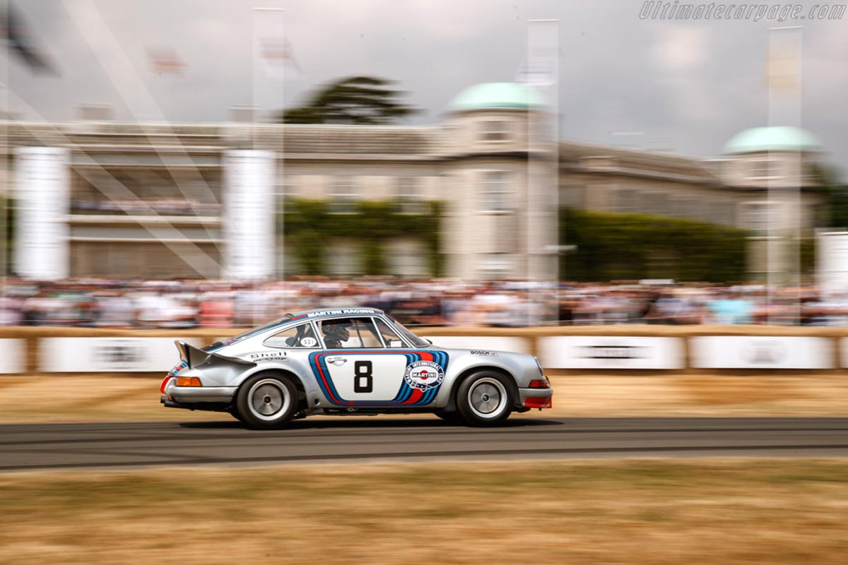 Goodwood Festival of Speed — Maxted-Page historic Porsche racing