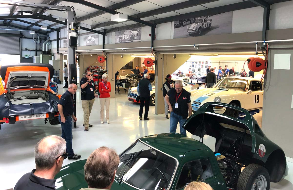The 43rd 356 International Meeting 2018 — Maxted-Page historic Porsche UK