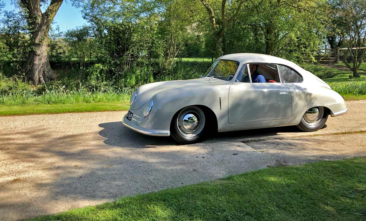 The 43rd 356 International Meeting 2018 — Maxted-Page Porsche