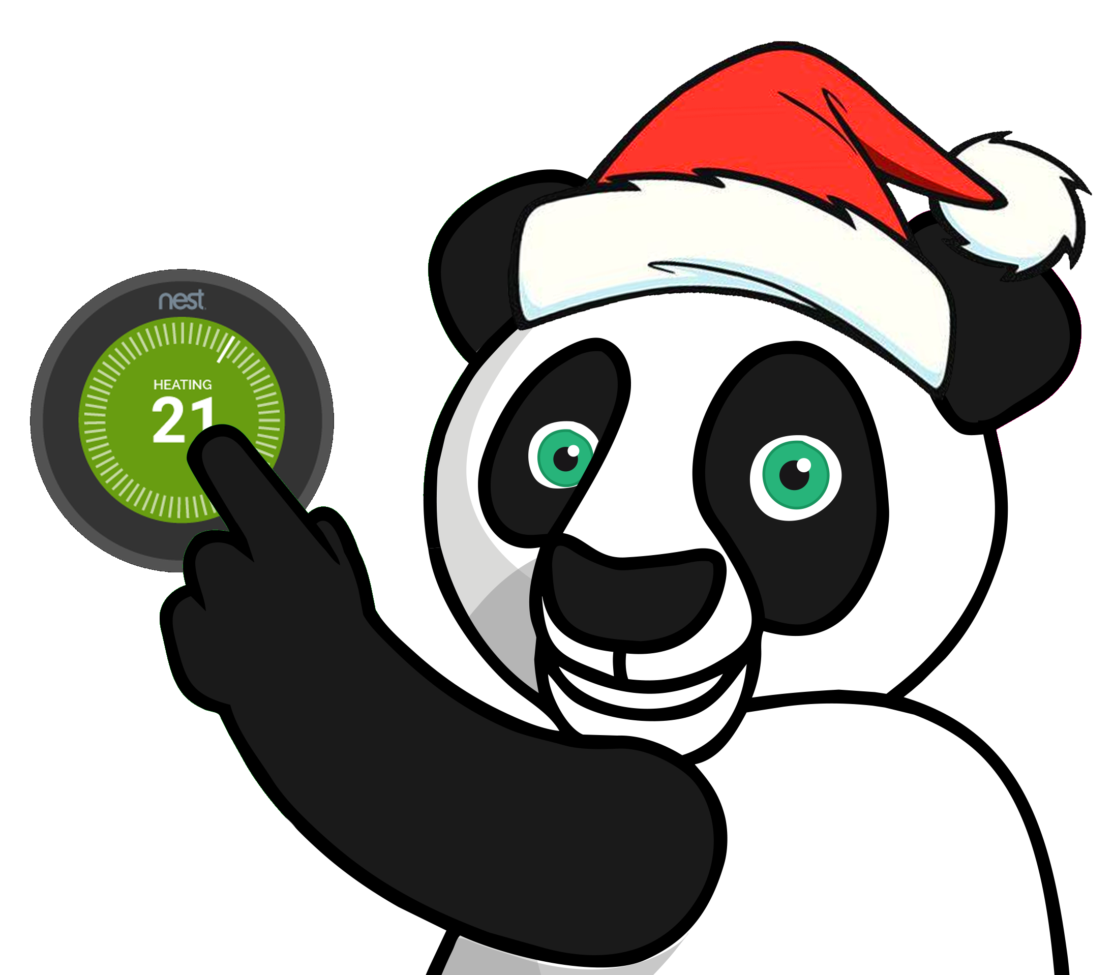 Bambu Heating Co Ltd, Bam Panda changing the temperature