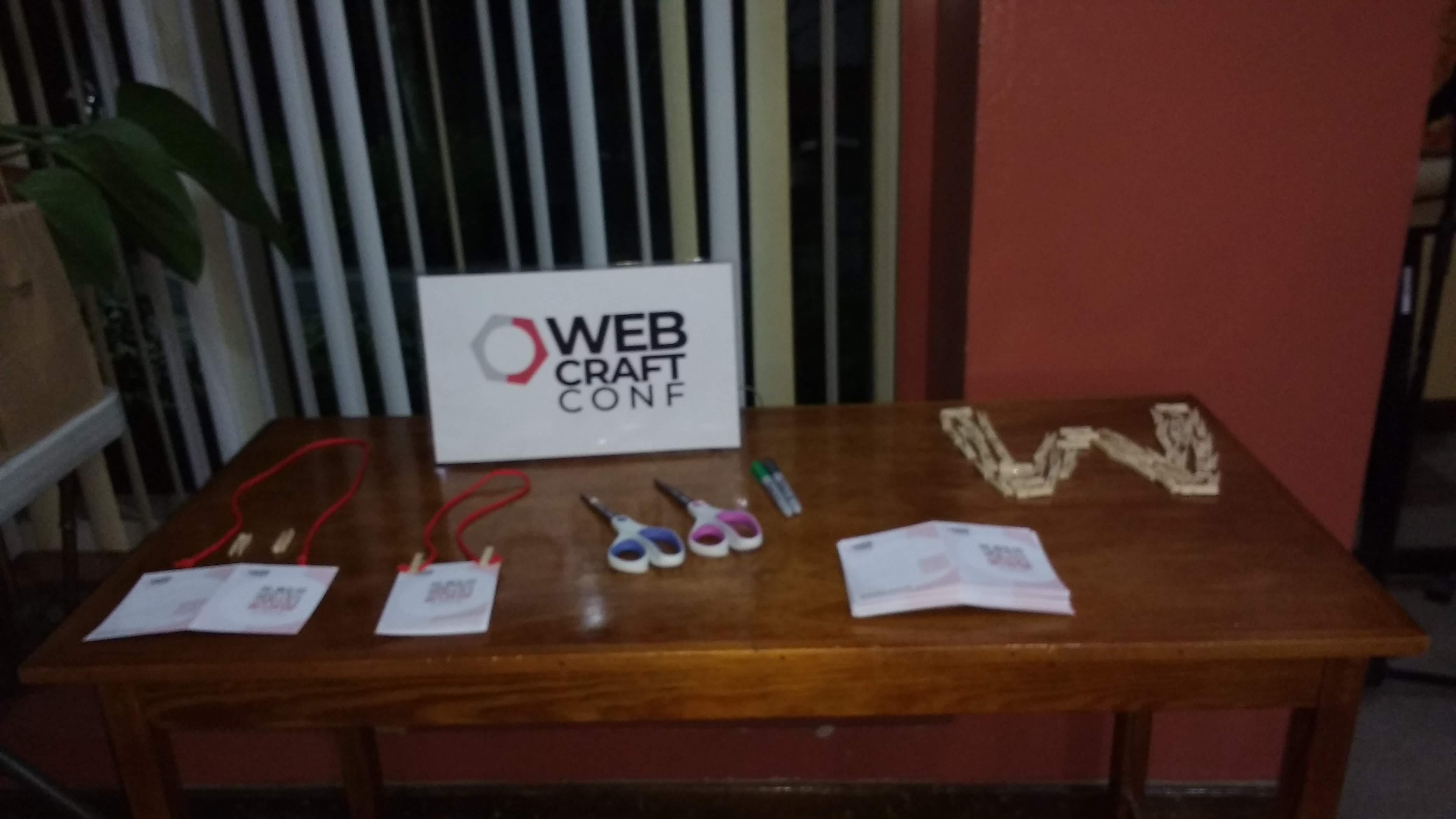 WebcraftConf