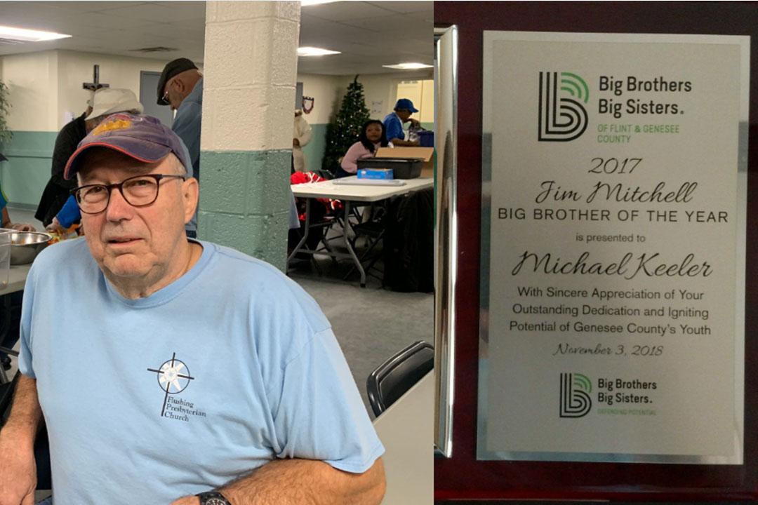 Michael Keeler, Big Brothers Big Sisters Award