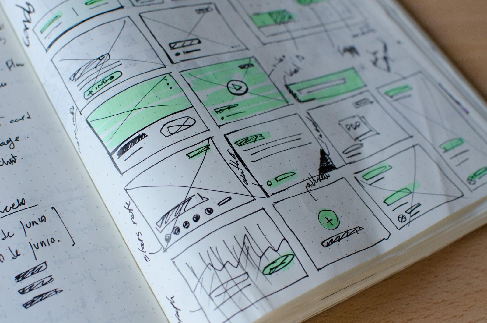 UI/UX planning