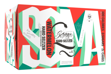 6 Pack of Watermelon SOMA Hard Seltzer by 21st Amendment Brewery