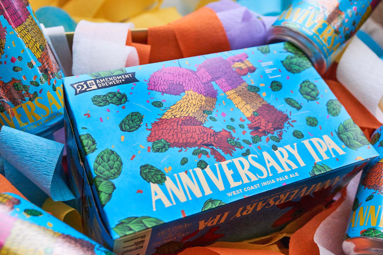 21st Anniversary IPA - West Coast IPA.
