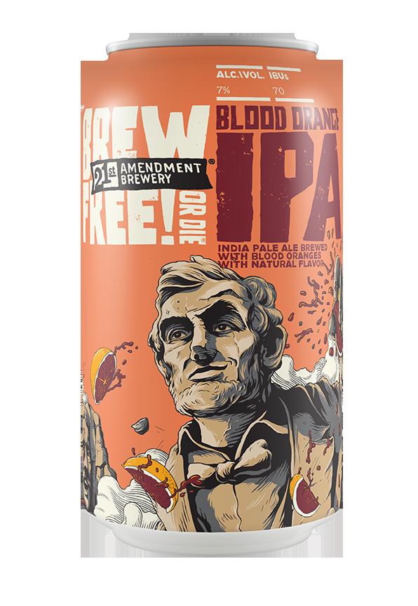 Brew Free! or Die Blood Orange IPA