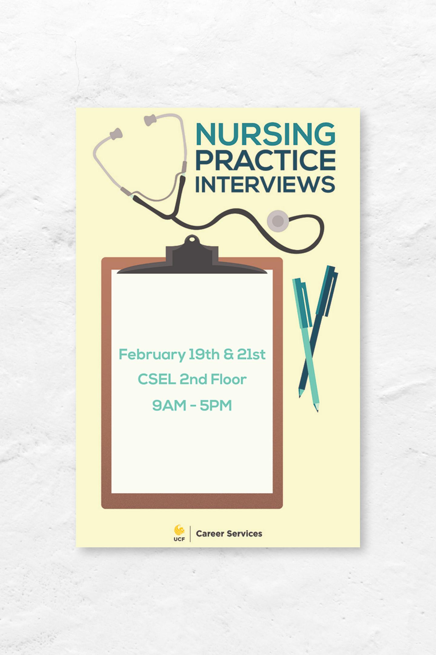 nursing ucf poster