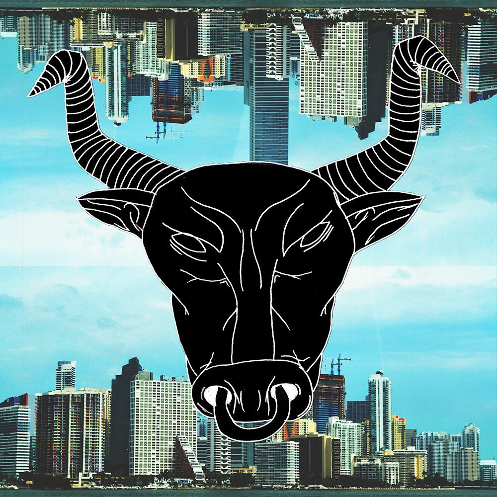 album art concept bull
