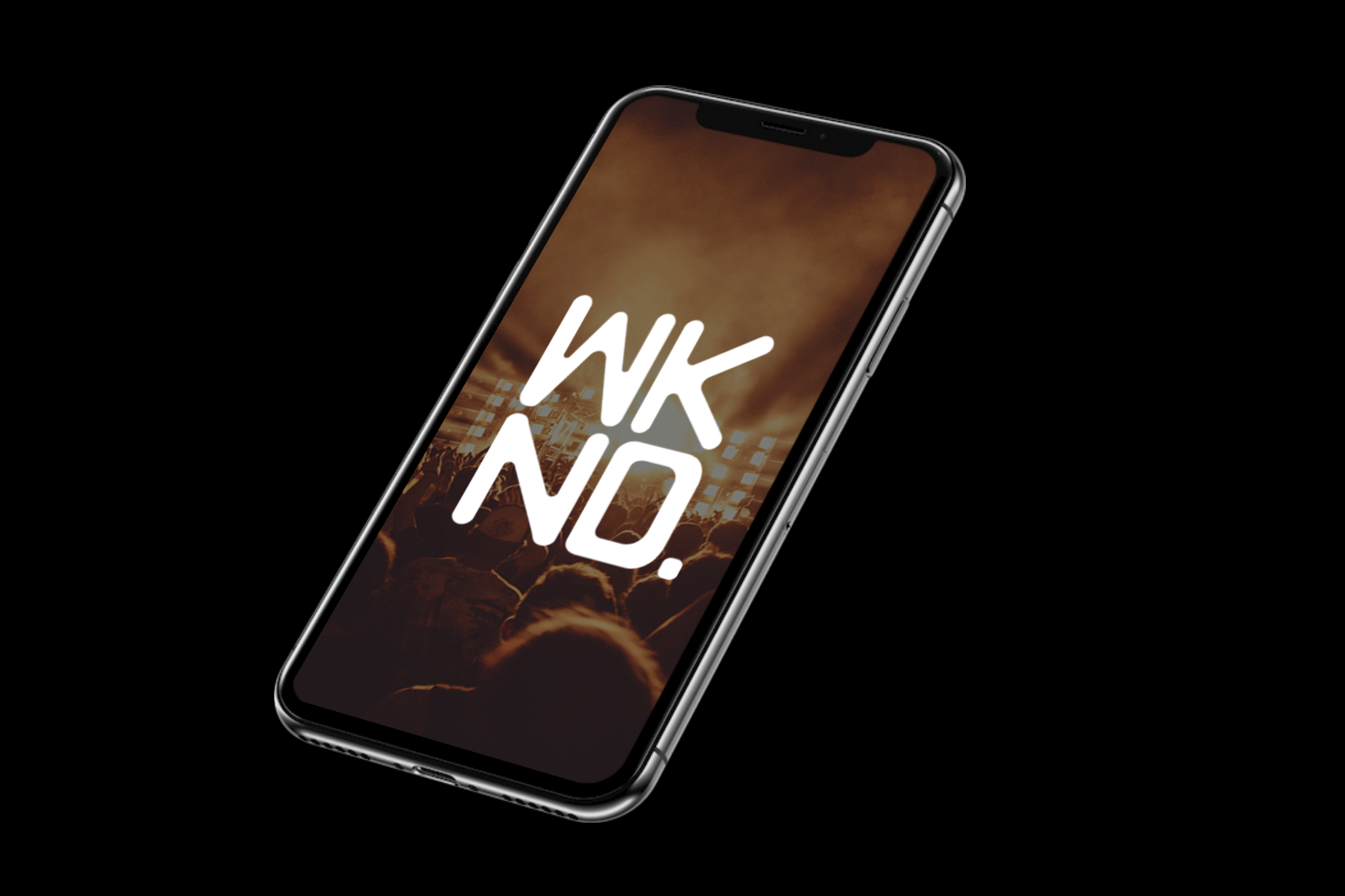 wknd splash screen phone mockup