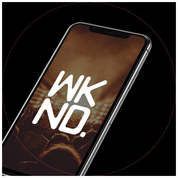 wknd logo branding concept