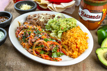 La Hacienda Mexican Restaurant Arrachera Steak