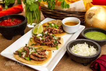 La Hacienda Mexican Restaurant Sampler