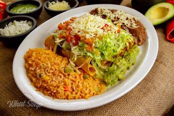 La Hacienda Mexican Restaurant Queso Fundido
