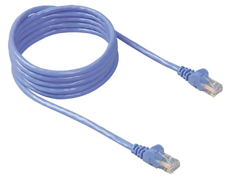 Snagless Cable Blue