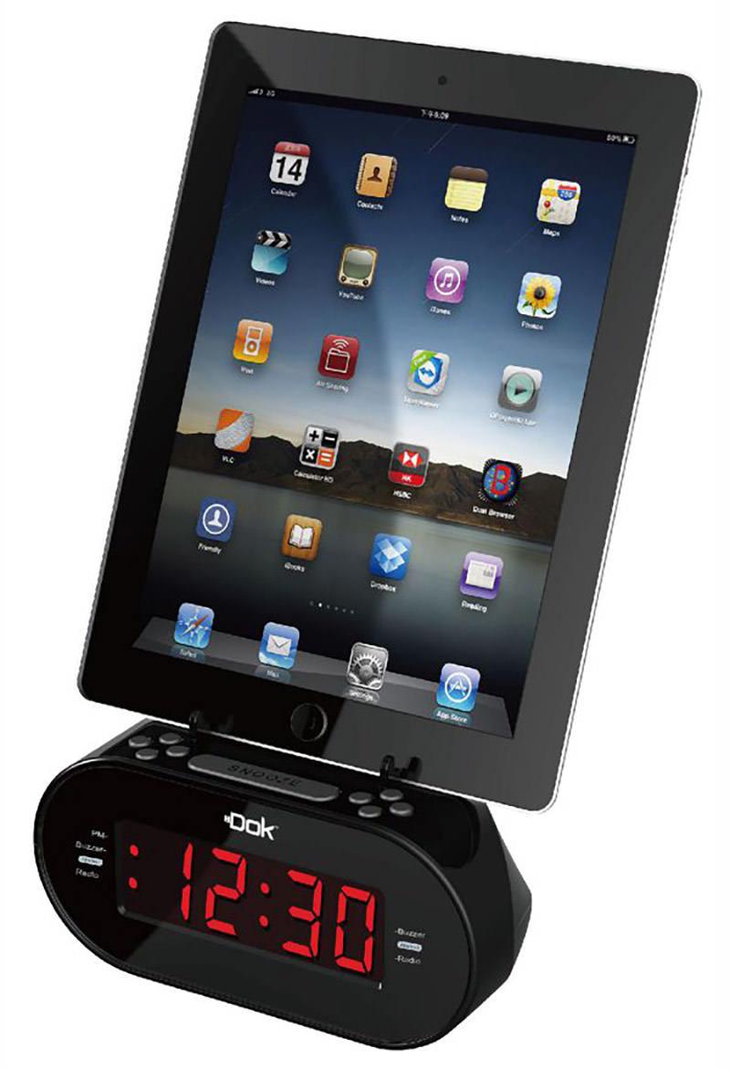 Charger w Alarm Clock/Speaker
