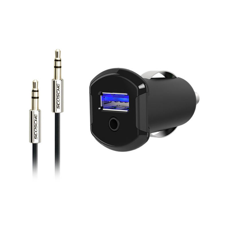 Scosche Car AUX-In Audio Converter for Lightning Devices
