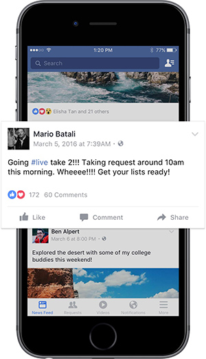 Facebook Heads Up Image