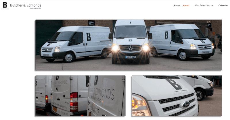Butchers And Edmonds Vehicles