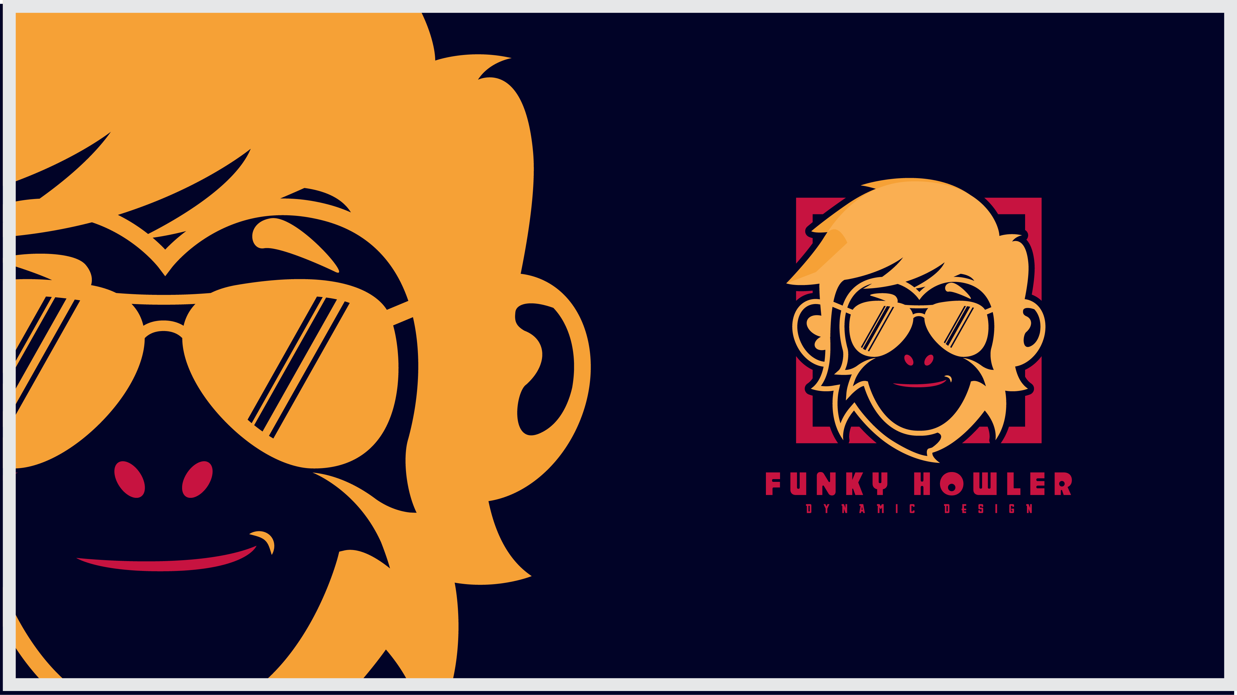 Funky Howler Logo