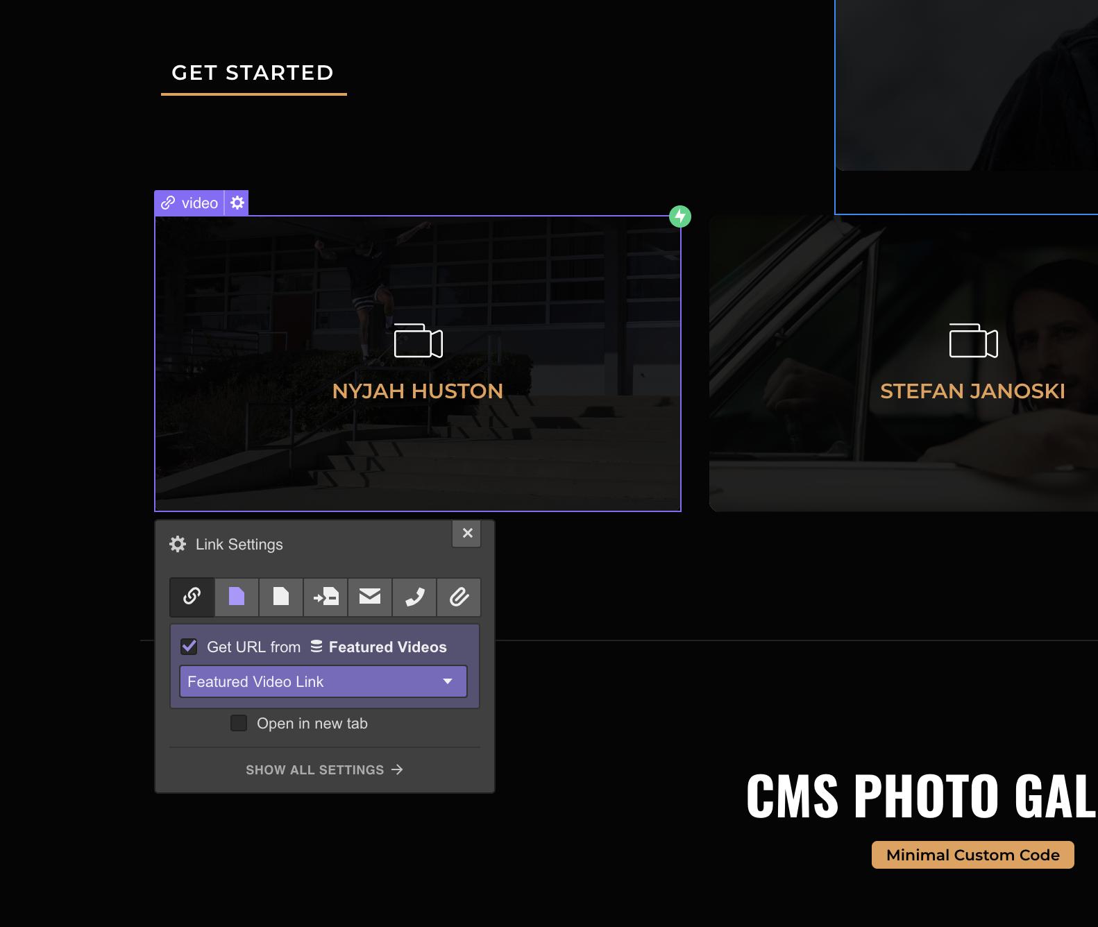 CMS LightBox Galleries (The Easy Way) - Webflow