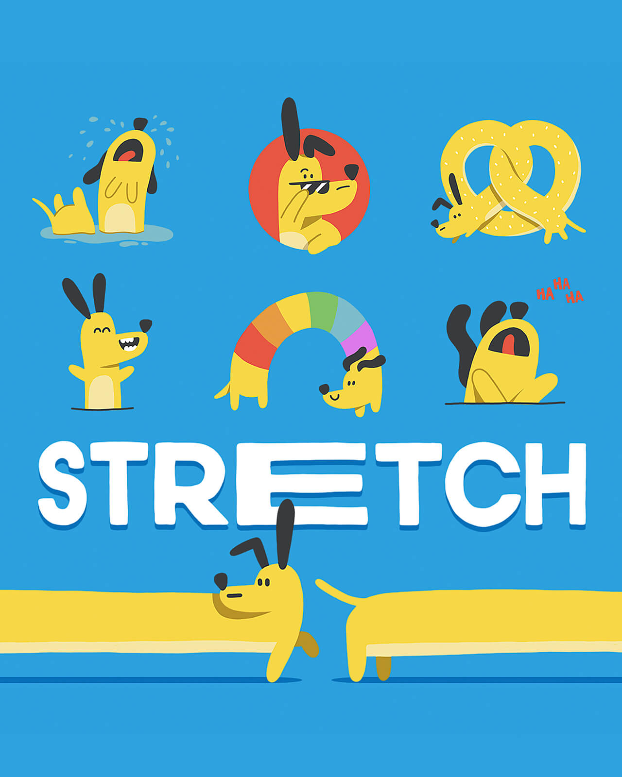 Stretch, The Dog