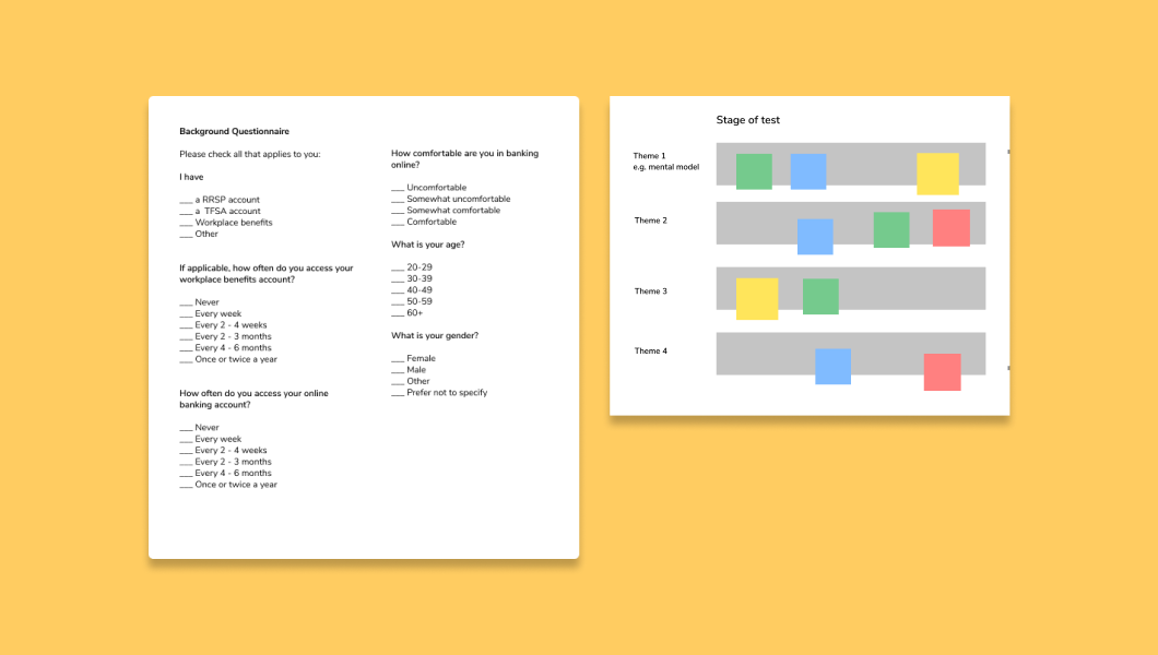 Toolkit booklet open showing an example module