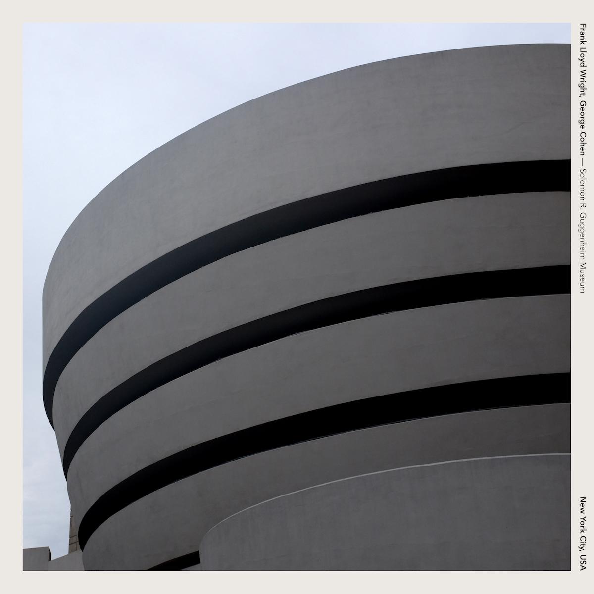 Frank Lloyd Wright & George Cohen — Solomon R. Guggenheim Museum