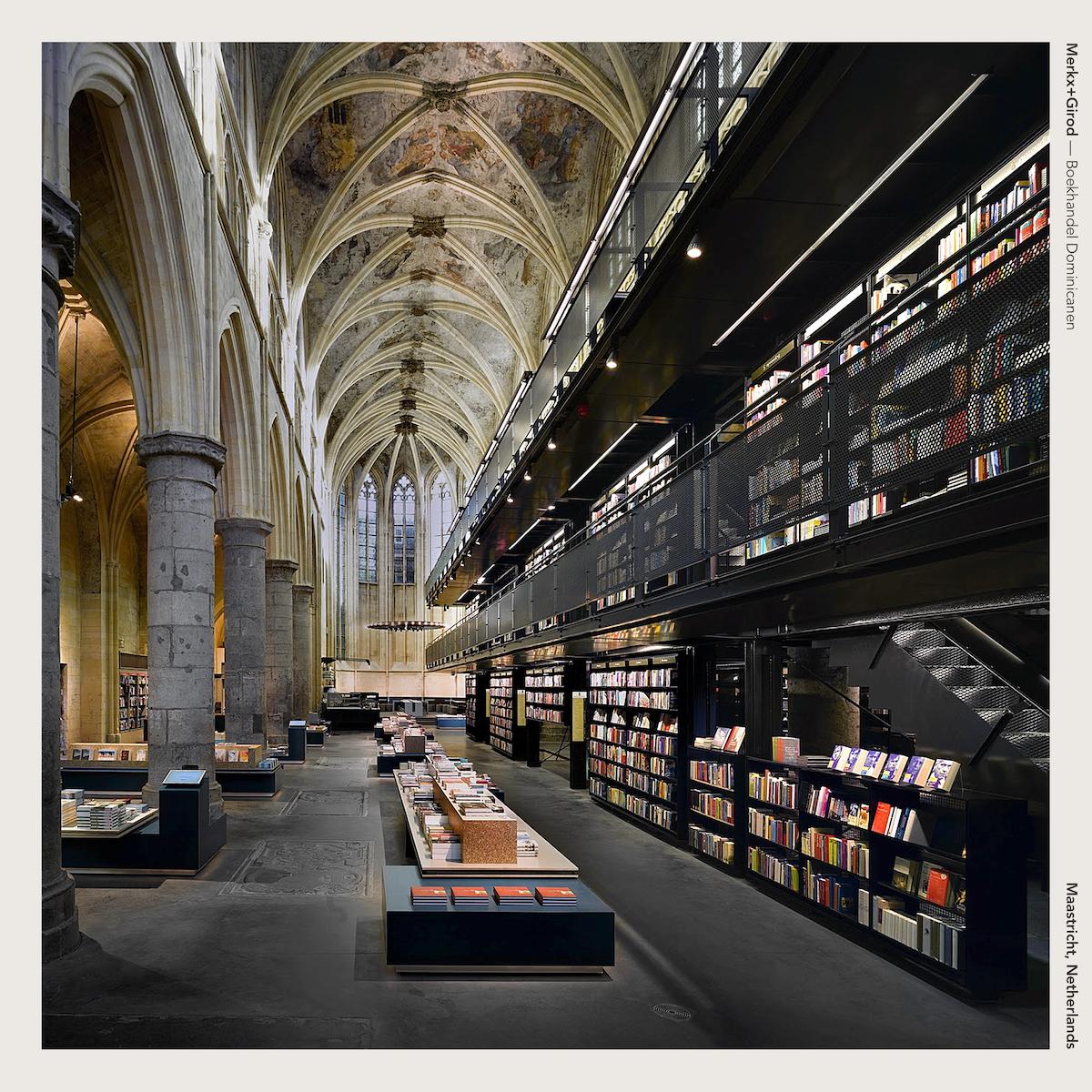 Merkx+Girod — Boekhandel Dominicanen