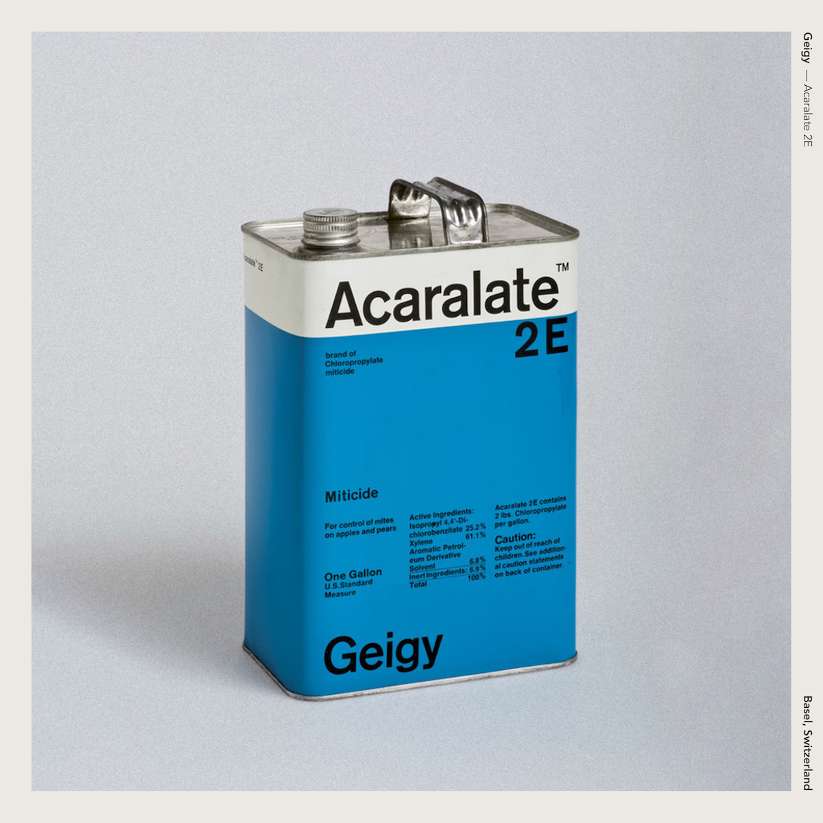 Geigy — Acaralate 2E