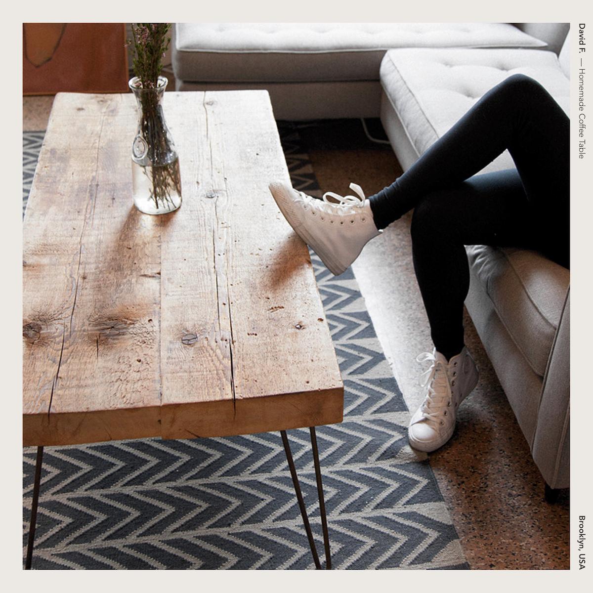 David F. — Homemade Coffee Table