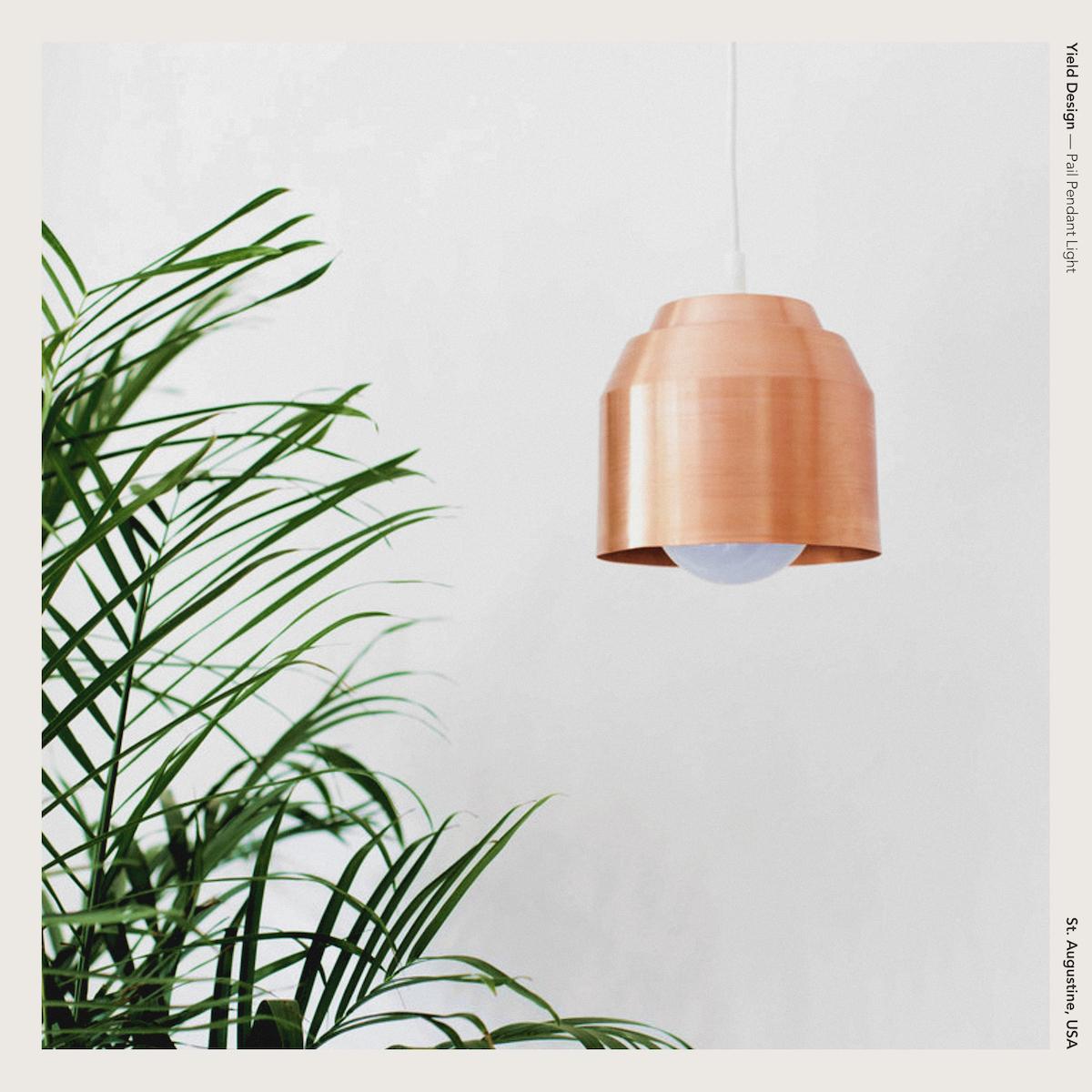Yield Design — Pail Pendant Light