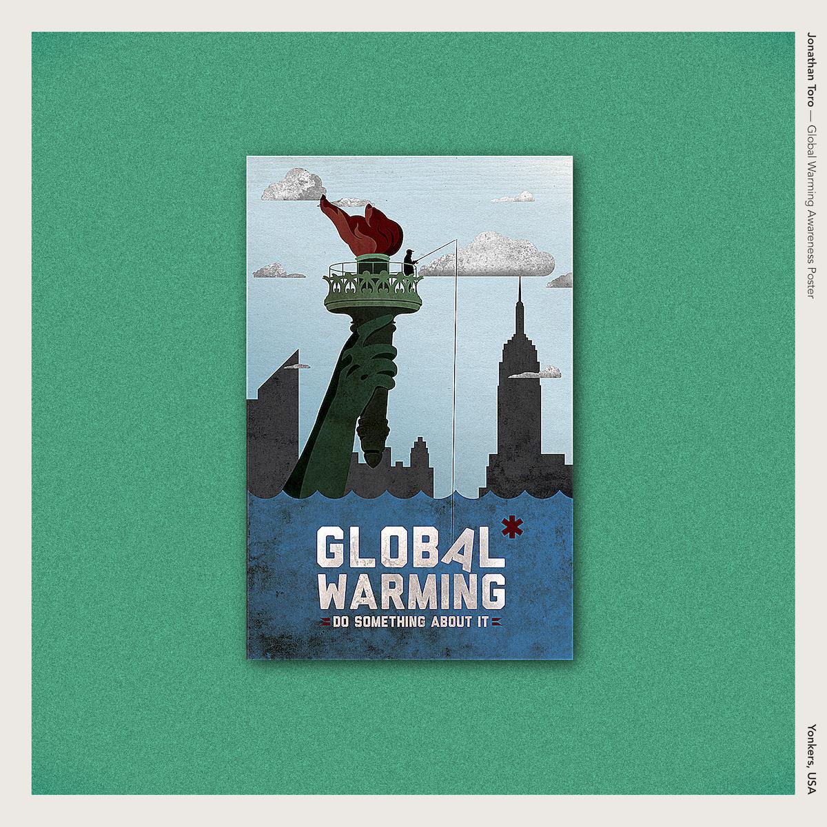 Jonathan Toro — Global Warming Awareness Poster