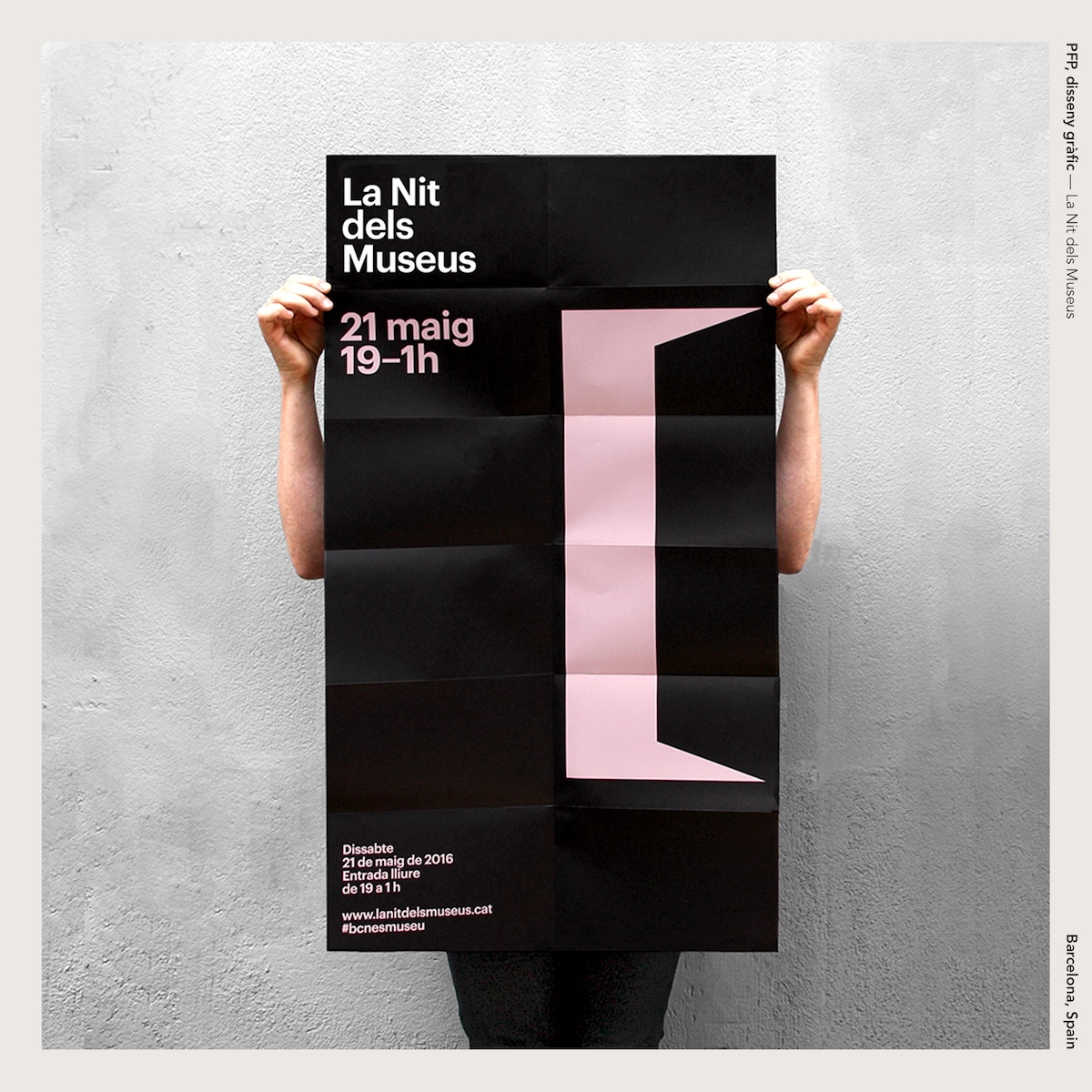 PFP, disseny gràfic —La Nit dels Museus
