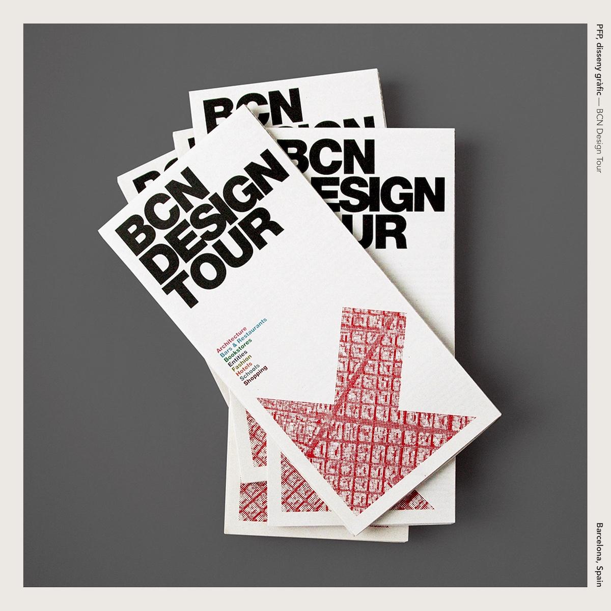PFP, disseny gràfic —BCN Design Tour