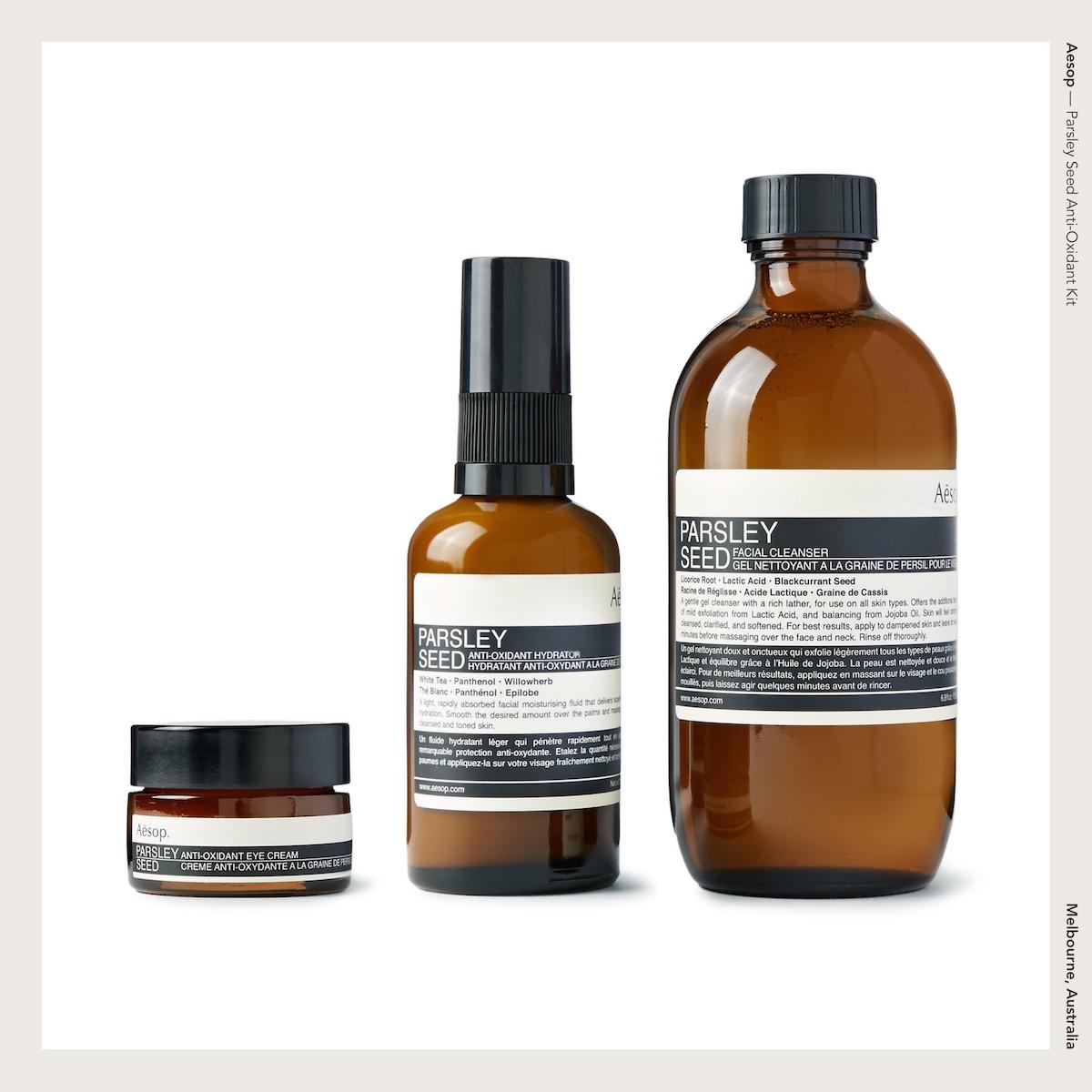 Aesop —Parsley Seed Anti-Oxidant Kit