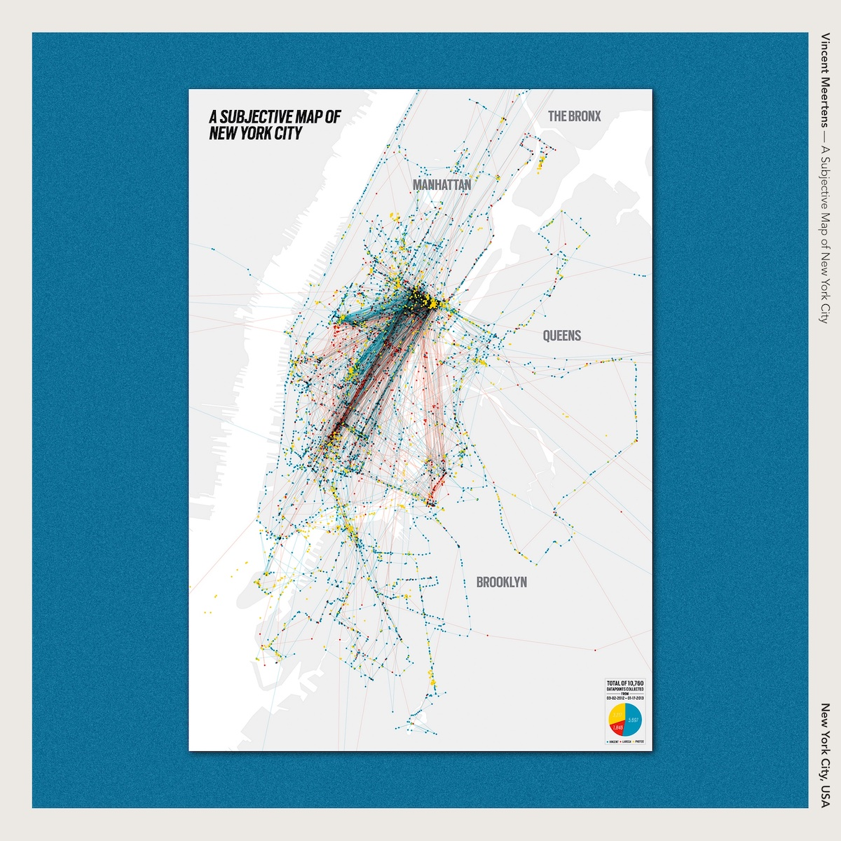 Vincent Meertens — A Subjective Map of New York City