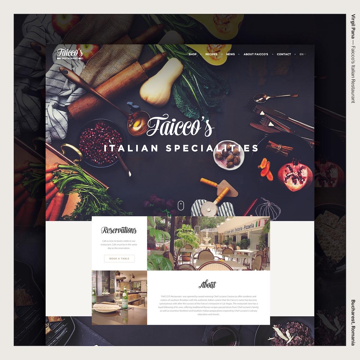 Virgil Pana — Faicco's Italian Restaurant