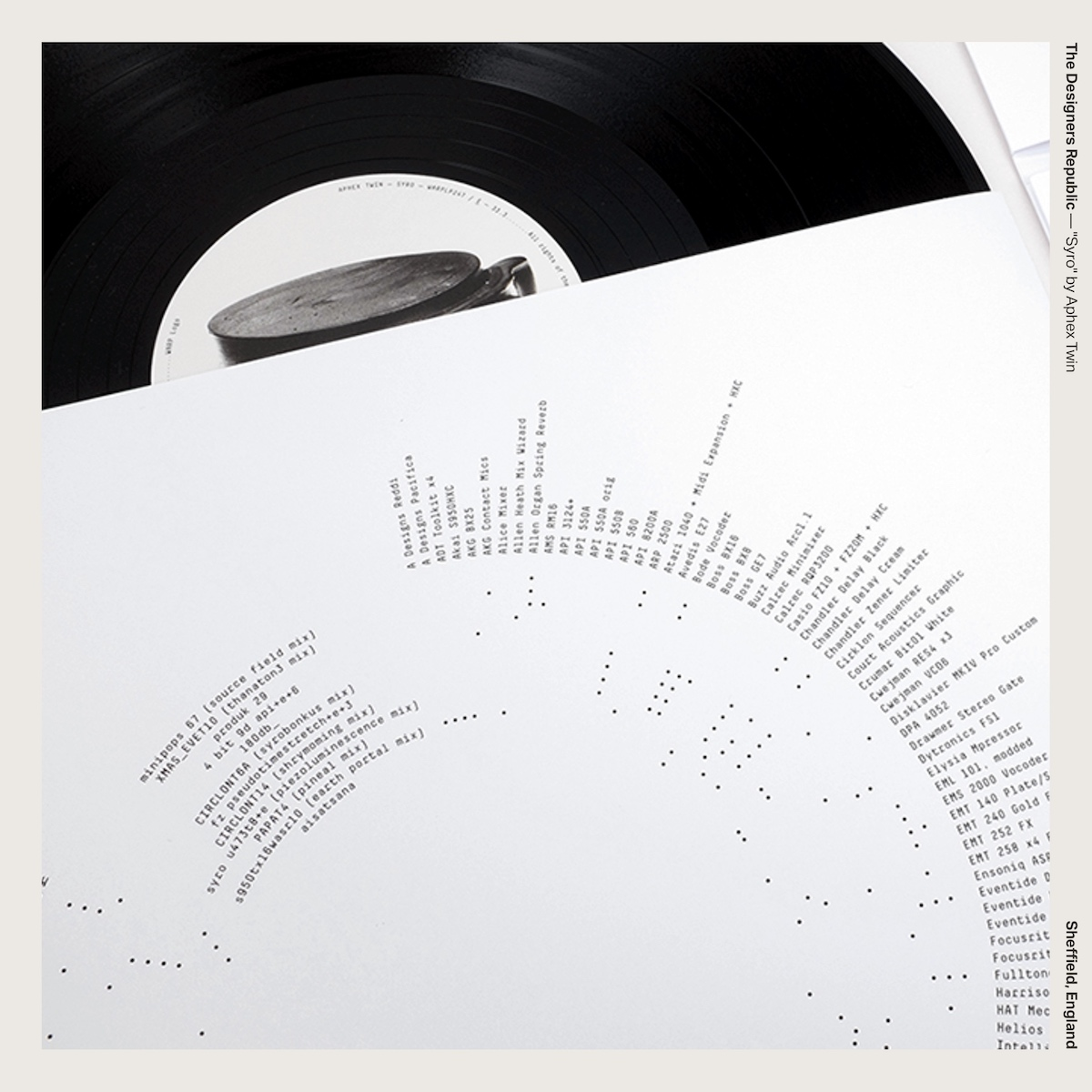 """The Designers Republic — """"Syro"""" by Aphex Twin"""
