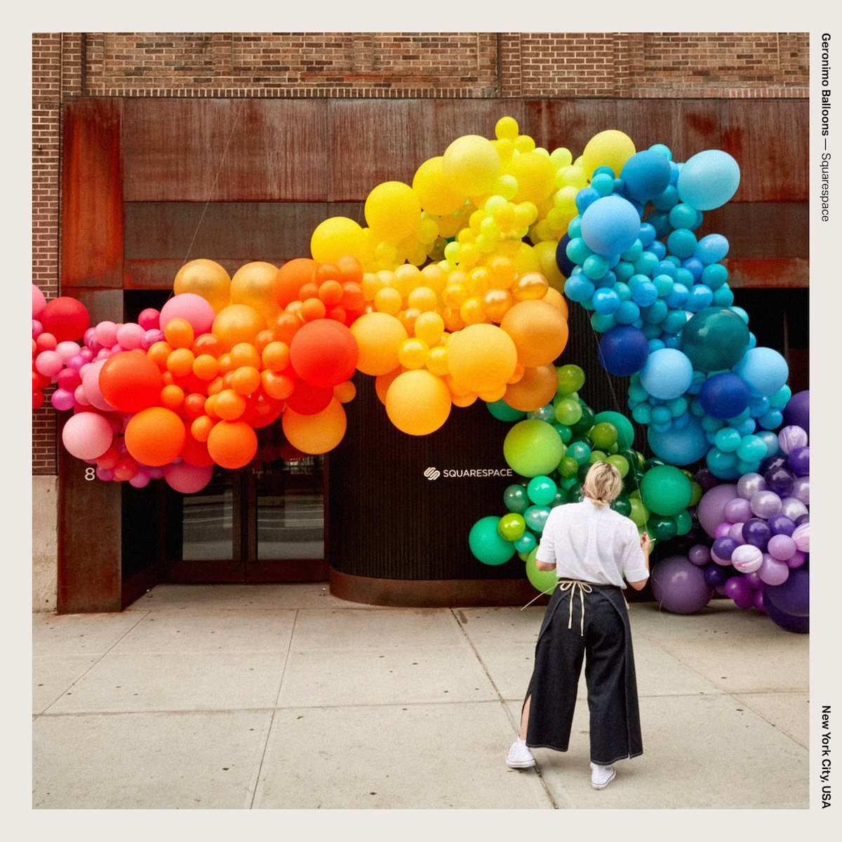 Geronimo Balloons — Squarespace