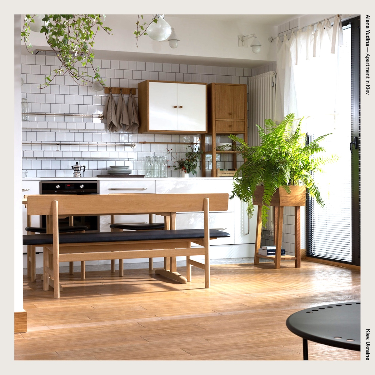 Alena Yudina — Apartment in Kiev