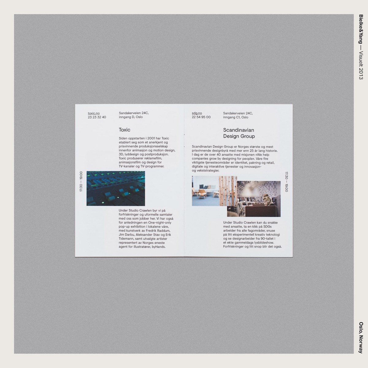Bielke&Yang — Visuelt 2013