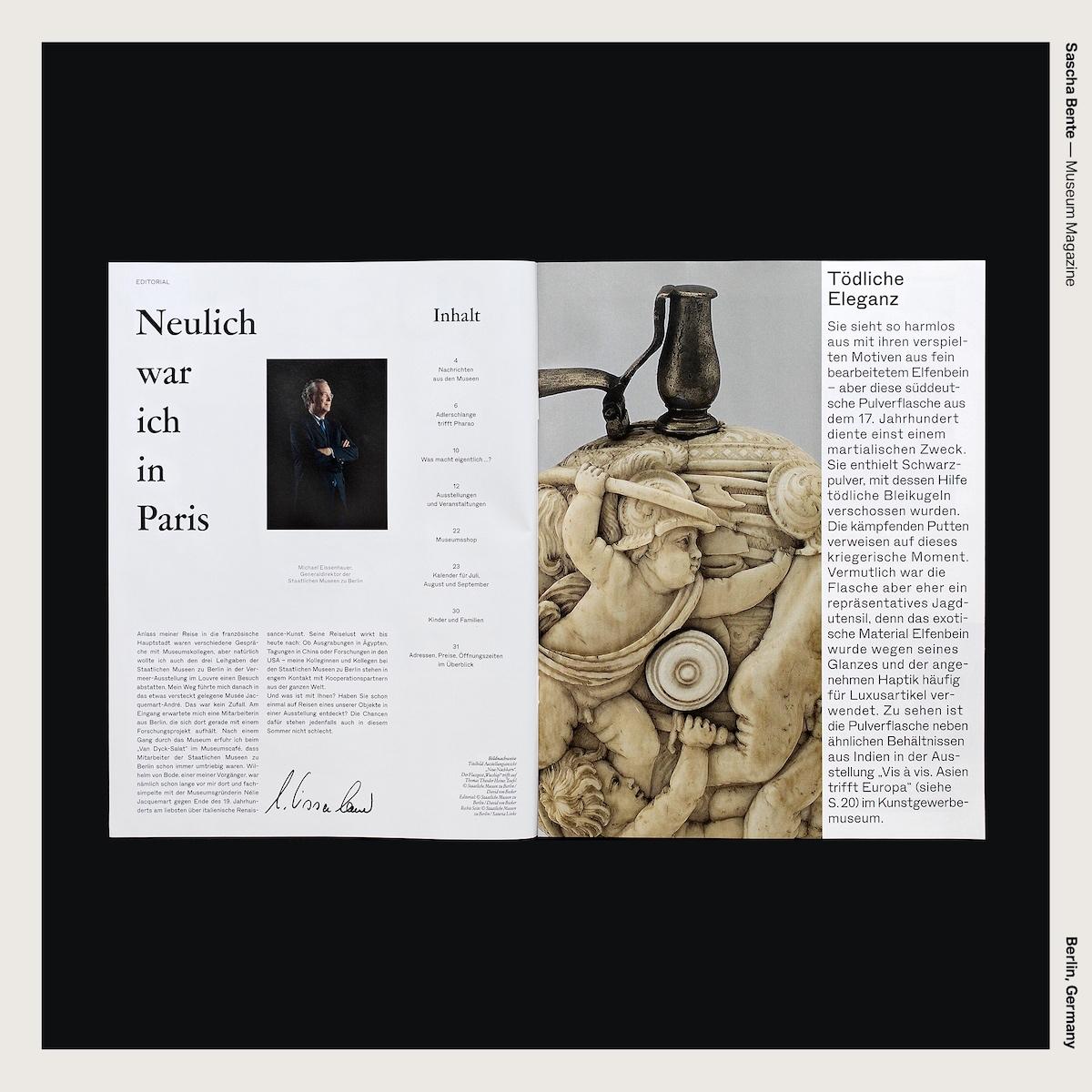 Sascha Bente — Museum Magazine